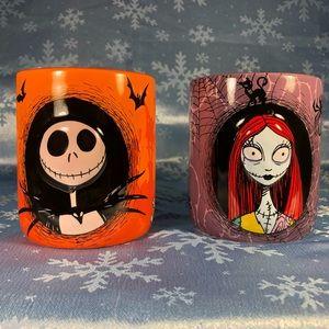 Disney The Nightmare Before Christmas Couples Mug